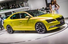 Skoda Auto Deutschland GmbH: Essen Motor Show: Neuer Superb und das Rallye-Erfolgsmodell sind die Stars von SKODA