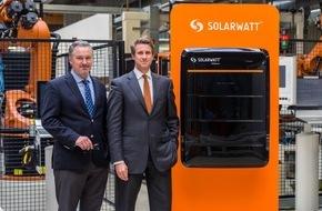 SOLARWATT GmbH: SOLARWATT GmbH beginnt mit Auslieferung des revolutionären Batteriespeichers MyReserve