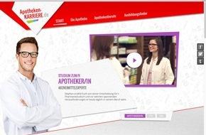 ABDA Bundesvgg. Dt. Apothekerverbände: ABDA startet Nachwuchs-Webseite apotheken-karriere.de