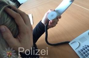 Polizeipräsidium Trier: POL-PPTR: Polizei gelingt Festnahme bei versuchtem Enkeltrick
