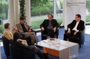 """PHOENIX: WISSENSCHAFTSFORUM PETERSBERG """"Auf zu den Sternen - Neue Sicht auf unsere Welt?PHOENIX, Sonntag, 31. Mai 2009, 13 Uhr und 22.30 Uhr"""""""