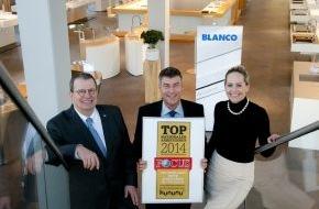 Blanco GmbH + Co KG: Unter den Besten im Südwesten / BLANCO zählt zu den 'Top Arbeitgebern 2014'