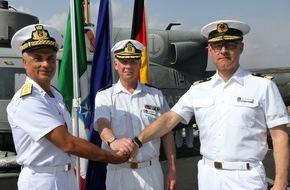 """Presse- und Informationszentrum Marine: """"Bayern"""" übernimmt - Operation """"Atalanta"""" wird von deutscher Fregatte aus geführt"""
