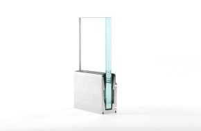 Pestalozzi + Co AG: VITROBAR®: le nouveau système de profilés pour garde-corps entièrement vitré de Pestalozzi