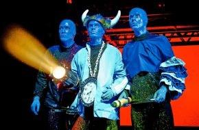 """Stage Entertainment Berlin: Seit zehn Jahren unangefochten Spitze in Berlin / Dauerbrenner """"Blue Man Group"""" feiert am Freitag Geburtstag"""