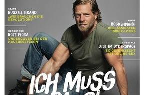 """Gruner+Jahr, Gala: Henning Baum plädiert für den Müßiggang: """"Ich muss mich ausruhen"""""""