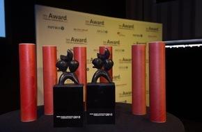 Award Corporate Communications: Zwei Award-Trophäen konnten gestern übergeben werden / Jury entschied sich für sechs Nominationen