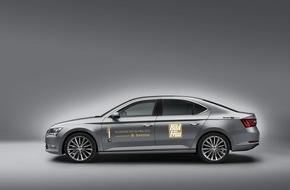 Skoda Auto Deutschland GmbH: SKODA VIP-Shuttle für die 'GOLDENE BILD der FRAU'