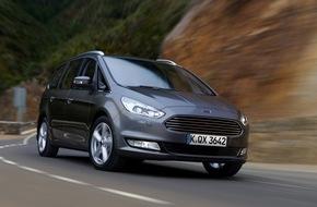 Ford-Werke GmbH: Neuer Galaxy ist die erste Großraumlimousine von Ford mit intelligentem Allradantrieb (FOTO)
