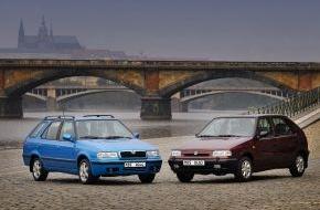 Skoda Auto Deutschland GmbH: SKODA Felicia: Start einer neuen Ära bei SKODA vor 20 Jahren