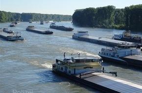 Wasserschutzpolizeiamt Rheinland-Pfalz: WSPA-RP: Rheinschifffahrt  zwischen Iffezheim und Germersheim erneut gesperrt