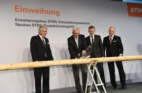 ANDREAS STIHL AG & Co. KG: STIHL weiht Neubauten für 90 Millionen Euro ein