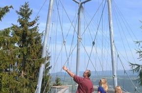 Katholische Jugendfürsorge der Diözese Augsburg e.V.: Seit fünf Jahren integratives Naturerlebnis / skywalk allgäu feiert