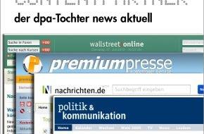 news aktuell GmbH: dpa-Tochter news aktuell jetzt mit mehr als 350 Web-Partnerschaften / Programmierschnittstelle (API) erfolgreich etabliert