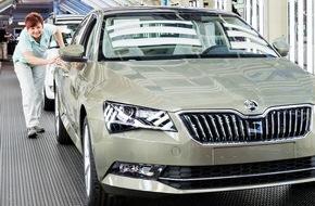 Skoda Auto Deutschland GmbH: Werksferien: SKODA AUTO optimiert und erweitert Produktionsanlagen