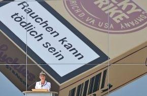 British American Tobacco (Germany) GmbH: Das größte und längste Markengraffiti der Welt / Lucky Strike - Große Geschichten brauchen große Bilder