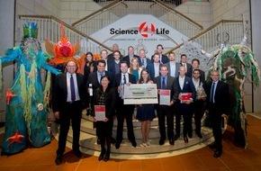 Science4Life e.V.: Rekord beim Science4Life Venture Cup 2015: Beteiligung am Businessplan-Wettbewerb so hoch wie nie