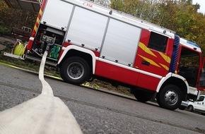 Feuerwehr Plettenberg: FW-PL: Brand in einem Walzgerüst