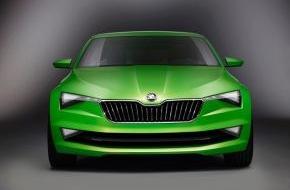 Skoda Auto Deutschland GmbH: Designstudie 'SKODA VisionC' - die nächste Runde der SKODA Modelloffensive