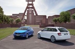 Skoda Auto Deutschland GmbH: Essen Motor Show: Neuer SKODA Fabia Combi feiert seine Deutschland-Premiere