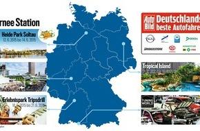 """AUTO BILD: """"Deutschlands beste Autofahrer"""" gehen in Cleebronn an den Start"""