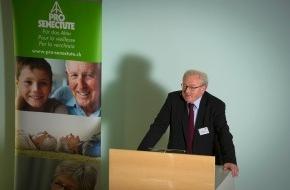 Pro Senectute: L'assemblée de la fondation de Pro Senectute Suisse sous le signe de la politique de la vieillesse (ANNEXE)