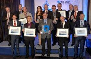 BG ETEM - Berufsgenossenschaft Energie Textil Elektro Medienerzeugnisse: Sechs Mal Sicherheit / BG ETEM zeichnet Unternehmen aus