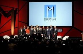 Medientage München: MEDIENTAGE MÜNCHEN 2015 vom 21. bis 23. Oktober  Digitale Disruption: Qualität statt 24/7-Byte-Geballer