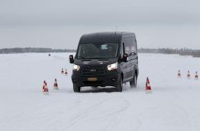 Ford-Werke GmbH: Neuer Ford Transit Connect und neuer Ford Transit gewinnen den Arctic Van Test 2014