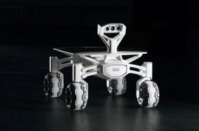 Audi AG: Mission Mondlandung: AUDI AG unterstützt deutsches Team bei Google Lunar XPRIZE