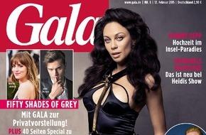 """Gruner+Jahr, Gala: Exklusives Foto-Shooting / Lilly Becker in GALA: """"Wenn Boris mich schlagen würde - ich würde zurückschlagen"""""""