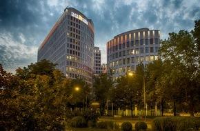 ING-DiBa AG: ING-DiBa setzt Frankfurter LEO neu in Szene / Hauptsitz von Deutschlands drittgrößter Privatkundenbank mit neuer Dachillumination