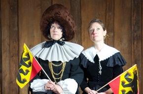 Museum Aargau: Keine Angst vor dem Berner Bär / Alter Adel - neue Herren / Eröffnung der Ausstellung und des Audiorundgangs im Schloss Wildegg, Museum Aargau am Mittwoch, 29. April 2015