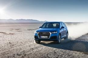 Audi AG: AUDI AG: Neuer Audi Q7 steht in den Startlöchern