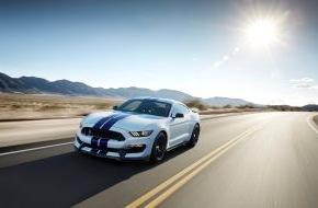 Ford-Werke GmbH: Ford Mustang Shelby GT 350 - die Legende ist zurück