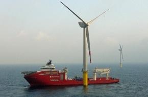 Trianel GmbH: Stadtwerke-Windpark in der Nordsee geht ans Netz / Trianel Windpark Borkum liefert ersten Strom