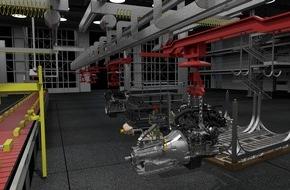 Ford-Werke GmbH: Belastung auf ein Minimum reduzieren: Virtual Manufacturing-Technologie bei Ford verbessert Montageabläufe