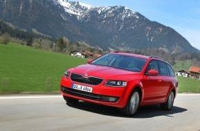 Skoda Auto Deutschland GmbH: Siegertyp mit Mehrwert: Neuer SKODA Octavia fährt weiter auf der Überholspur