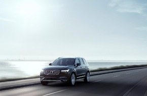 "Volvo Car Switzerland AG: Volvo XC90 erhält renommierten Red Dot ""Best of the Best"" Produktdesign Award"