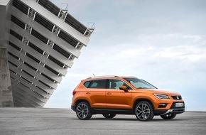 SEAT Deutschland GmbH: Spitzenergebnisse für den ersten SUV von SEAT / Euro NCAP: Fünf Sterne für den SEAT Ateca