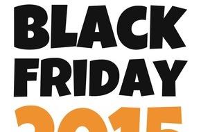 Black-Friday.de: Black Friday 2015: Händler können ihre Angebote ab sofort kostenlos bei Black-Friday.de einreichen