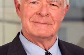 Johanniter Unfall Hilfe e.V.: Wechsel an der Spitze der Johanniter-Unfall-Hilfe / Dr. Arnold von Rümker zum neuen Präsidenten gewählt