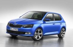 Skoda Auto Deutschland GmbH: Neuer SKODA Fabia feiert Weltpremiere in Paris und ist jetzt ab 11.790 Euro bestellbar