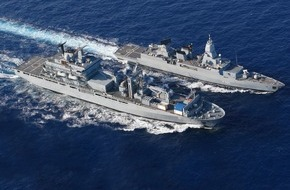 Presse- und Informationszentrum Marine: Seenotrettung im Mittelmeer - Deutsche Marine bereitet sich vor