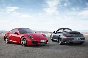 Porsche Schweiz AG: Mehr Fahrspass, Performance und Effizienz: Der neue Porsche 911 Carrera