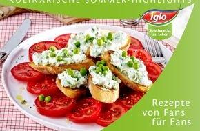 iglo Deutschland: Kulinarische Sommer-Highlights: iglo präsentiert neue Broschüre mit Rezepten von Fans für Fans