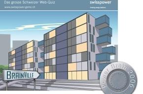 Swisspower AG: Swisspower lance un jeu national sur Internet