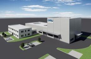OFRU Recycling GmbH & Co. KG: Technologieführer OFRU investiert 3,7 Mio. Euro am neuen Standort Alzenau
