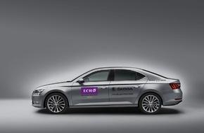 Skoda Auto Deutschland GmbH: SKODA fährt die Stars zum ECHO 2015