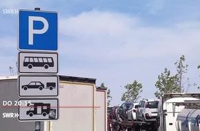 """""""Zur Sache Baden-Württemberg"""", 4.5.2017, u. a. mit Park-Chaos auf Raststätten wegen zu vieler LKW / Stress wegen MwSt-Rückerstattung für Schweizer Kunden, 20:15 Uhr, SWR Fernsehen in Baden-Württemberg"""